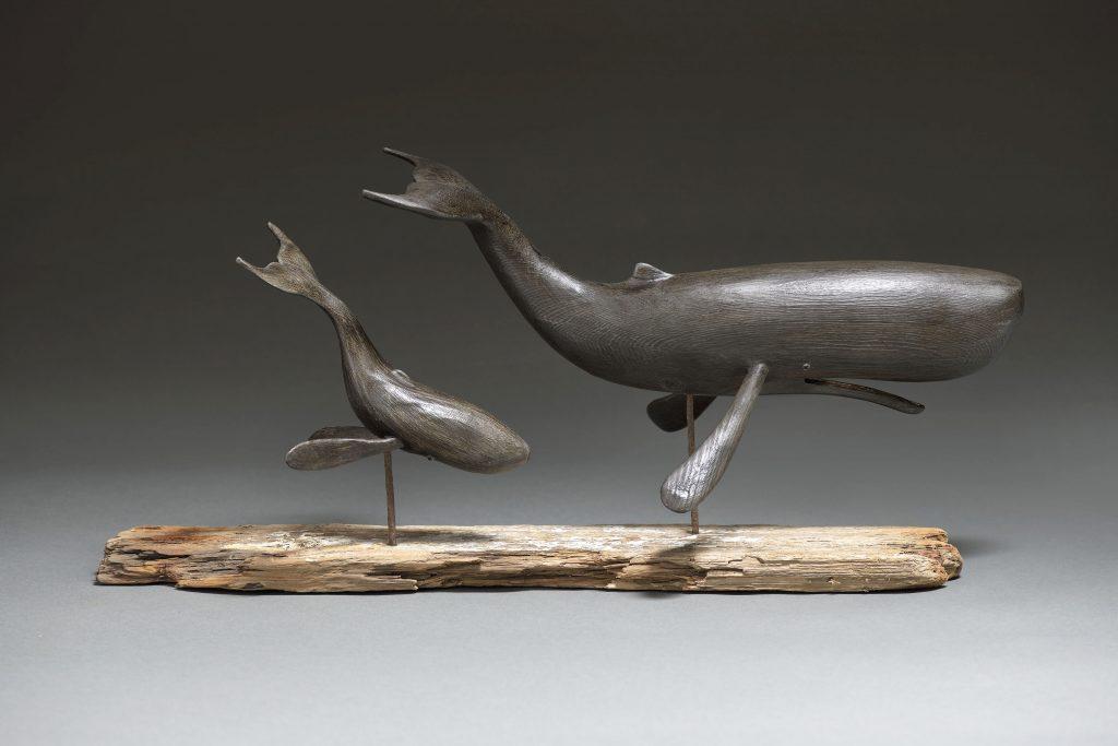 Stephen Henderson Sperm Whale Mother & Cal