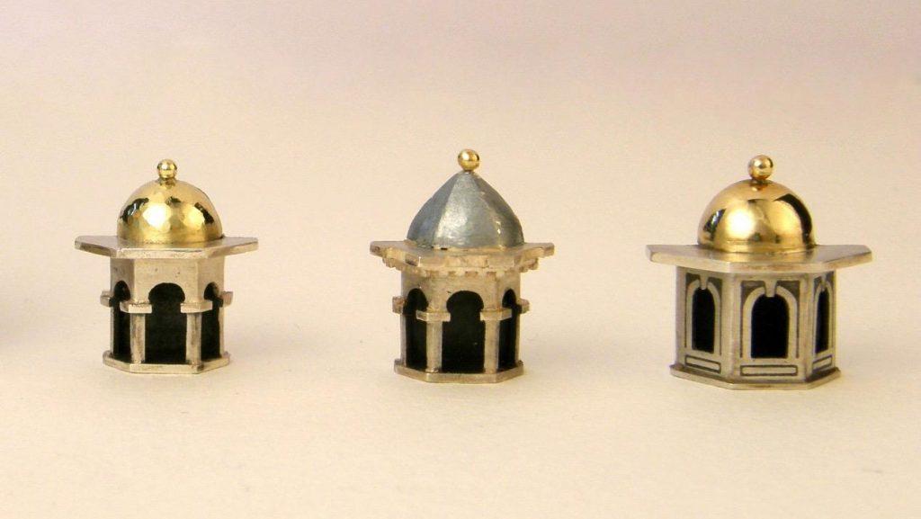 Vicki Ambery Smith Dome Earrings